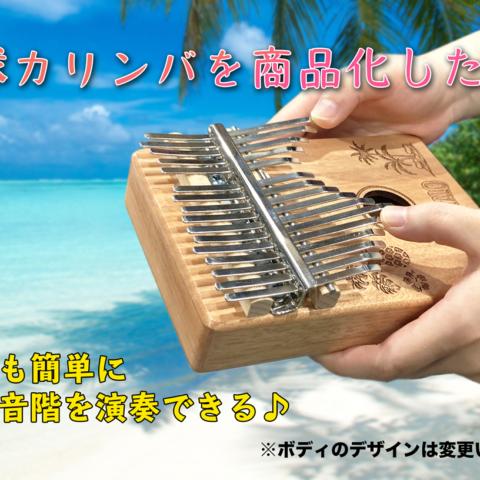 「琉球カリンバ」プロジェクト支援の流れについて